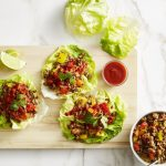 Savory Thai Turkey Lettuce Wraps