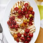 Roasted Baby Vine Tomato Grilled Chicken