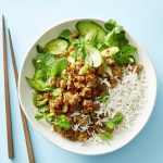 Ginger Pork and Cucumber Salad