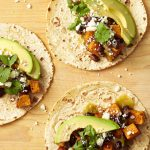 Sweet Potato, Avocado and Black Bean Tacos