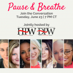 Pause & Breathe with Our Virtual Coaches Panel