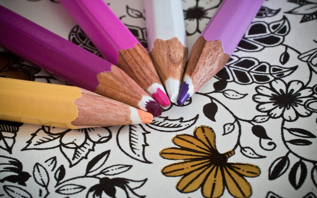 Unleash Your Inner Artist While Relieving Stress – Get Yourself a Coloring Book!